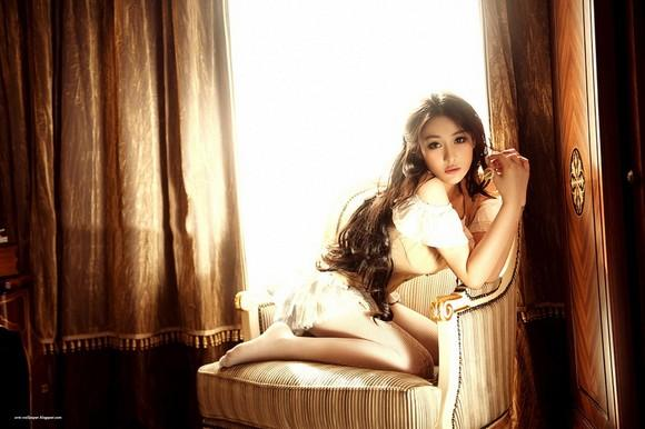 Girls Beauty Wallpaper Zhang Xinyu 41