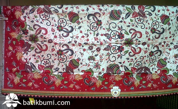 kain batik batik modern