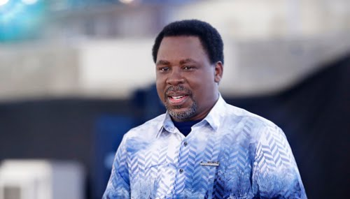 PROPHET T.B JOSHUA: THE IRONY OF FATE