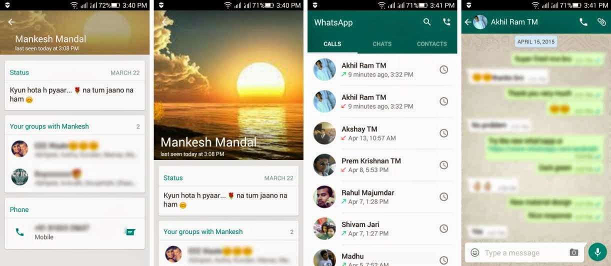 WhatsApp releases new UI for Android