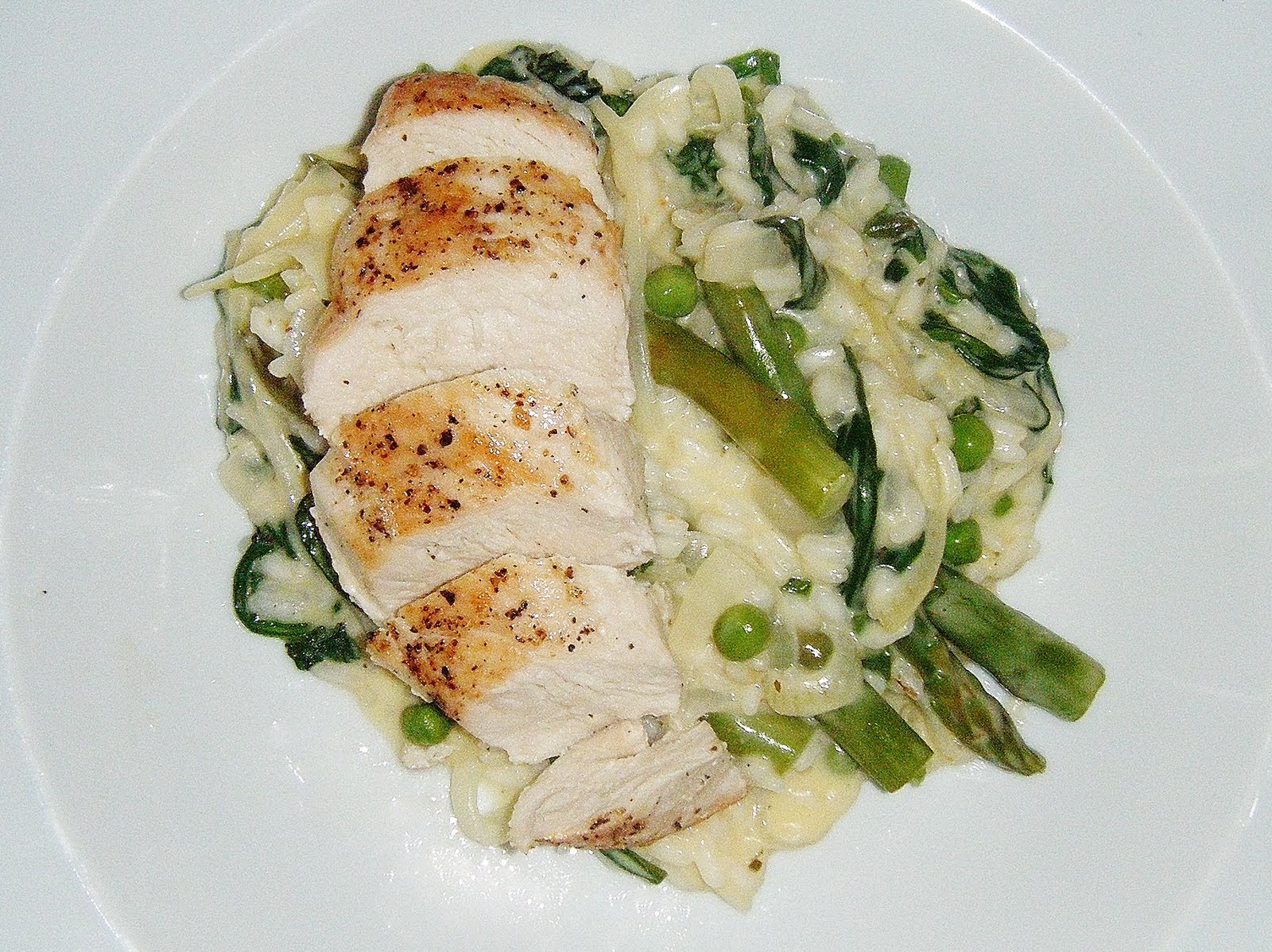 the Best Recipes: Summery Chicken, Pea & Asparagus Risotto