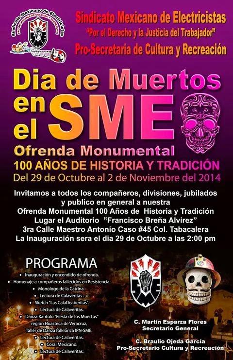 Ofrenda Monumental 100 Años de Historia y Tradición