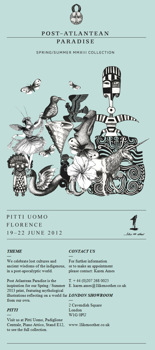 1...Like No Other @ the Pitti Uomo in Florence! // June 19  22nd