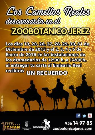 Camellos Reales Zoobotánico Jerez
