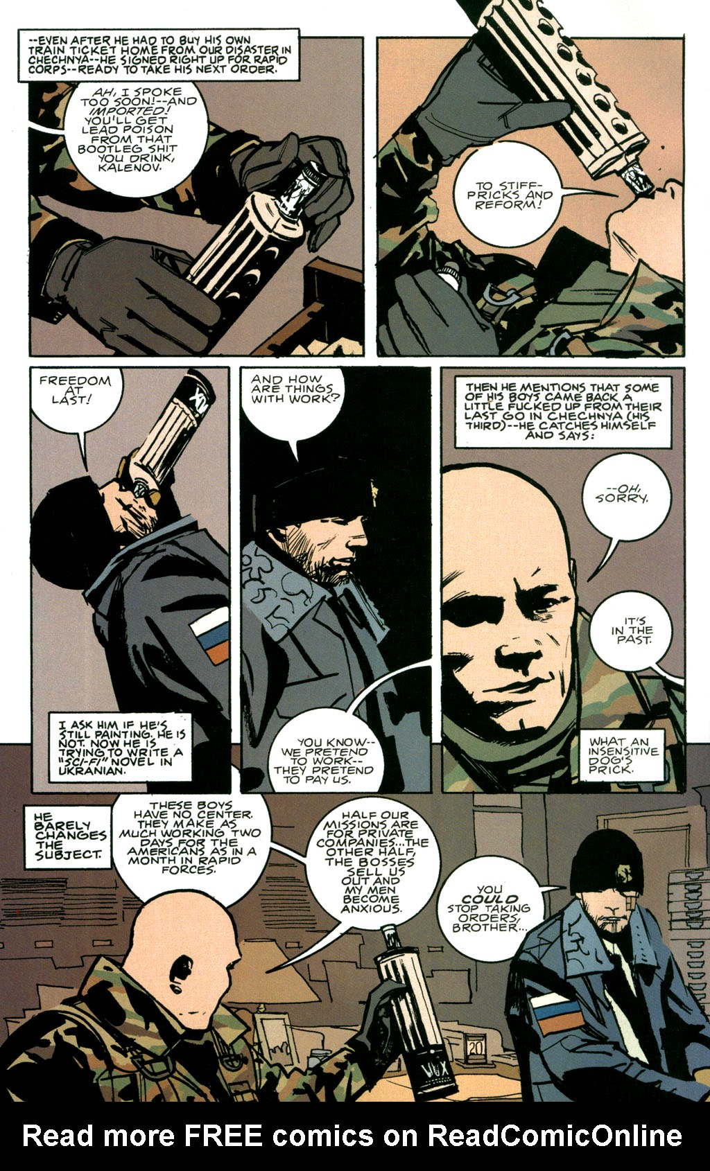 Read online The Winter Men comic -  Issue #1 - 11