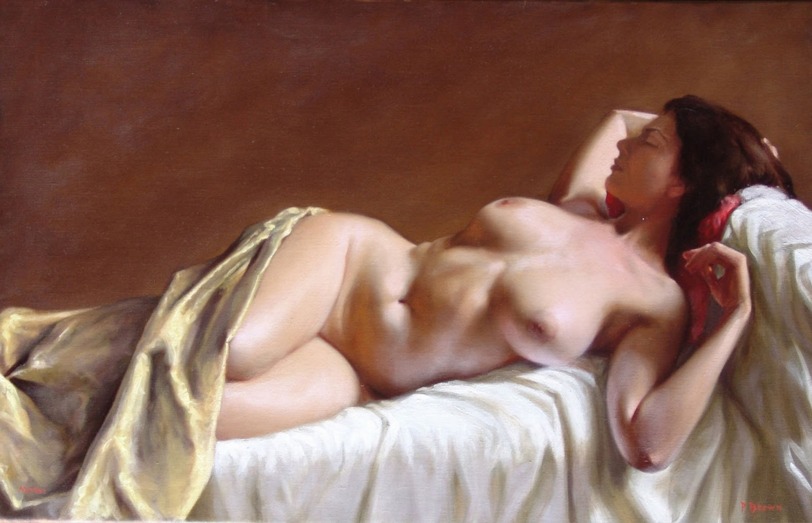 Los Desnudos Art Sticos Femeninos Paulbrown Carolina Del Norte