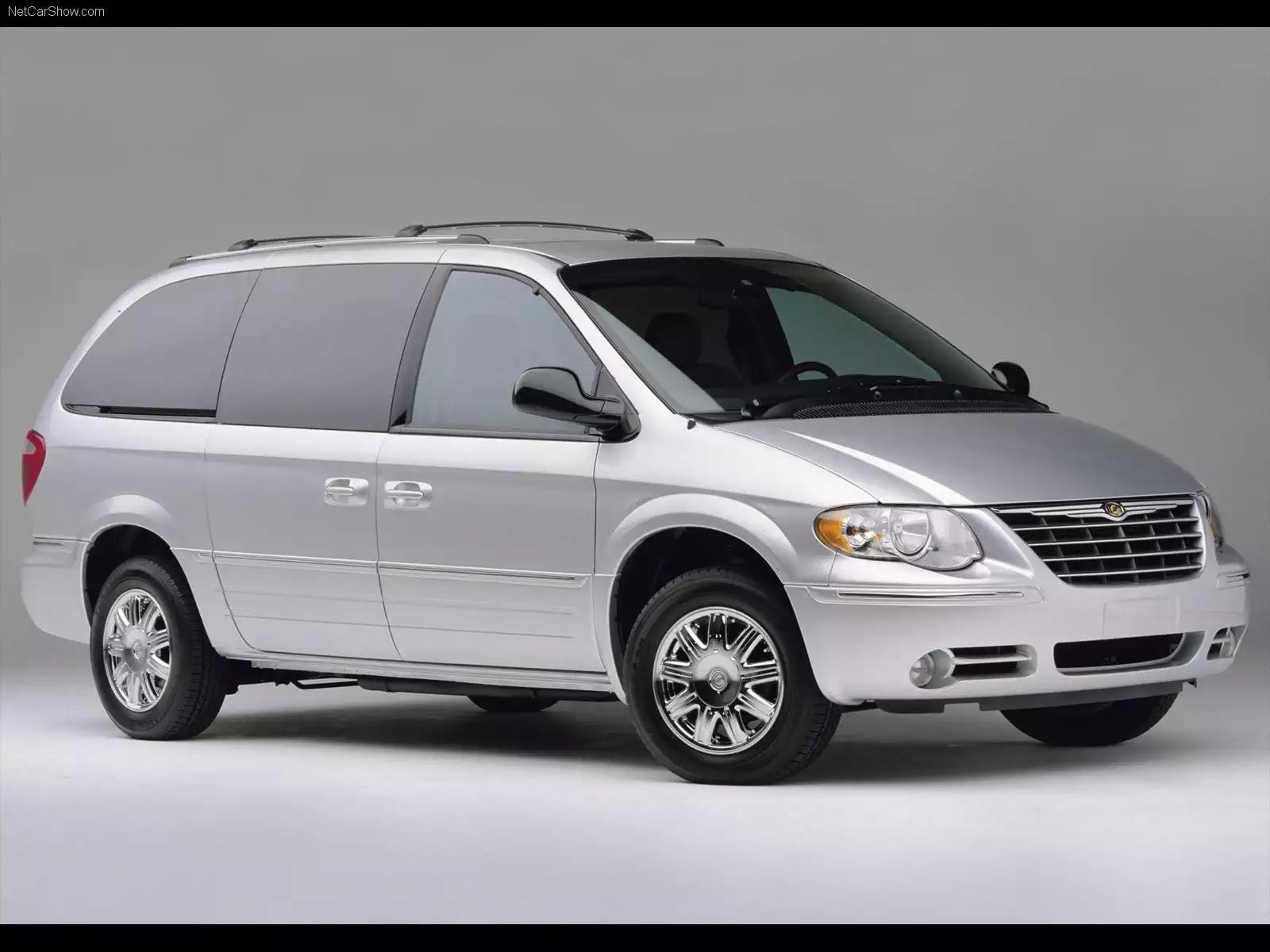 Hình ảnh xe ô tô Chrysler Town and Country 2005 & nội ngoại thất