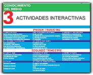 ACTIVIDADES INTERACTIVAS DE C. DEL MEDIO