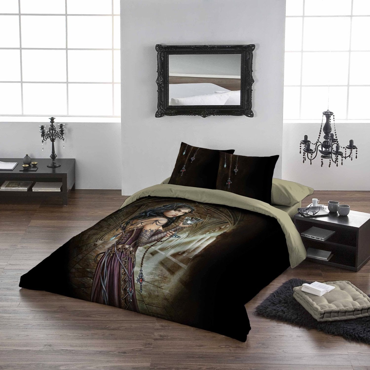 Design A Gothic Teen Bedroom Gothic Teen Bedroom : Bedroom Decor Ideas and Designs: Top Ten Gothic Bedding Sets for Girls