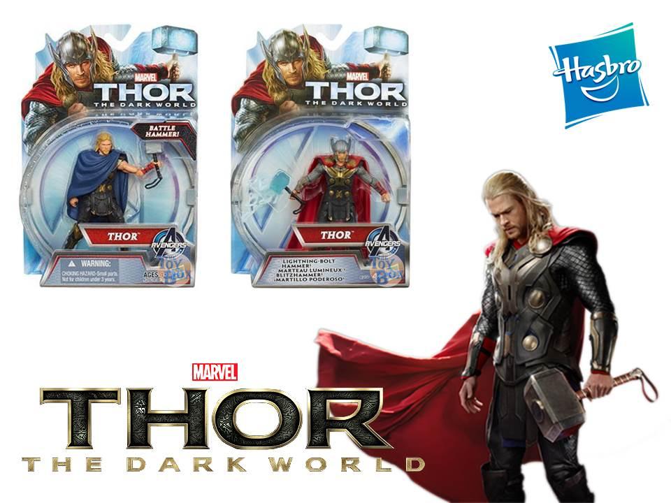 "Marvel Thor The Dark Worlds Battle Hammer Thor 4/"" Action Figure"