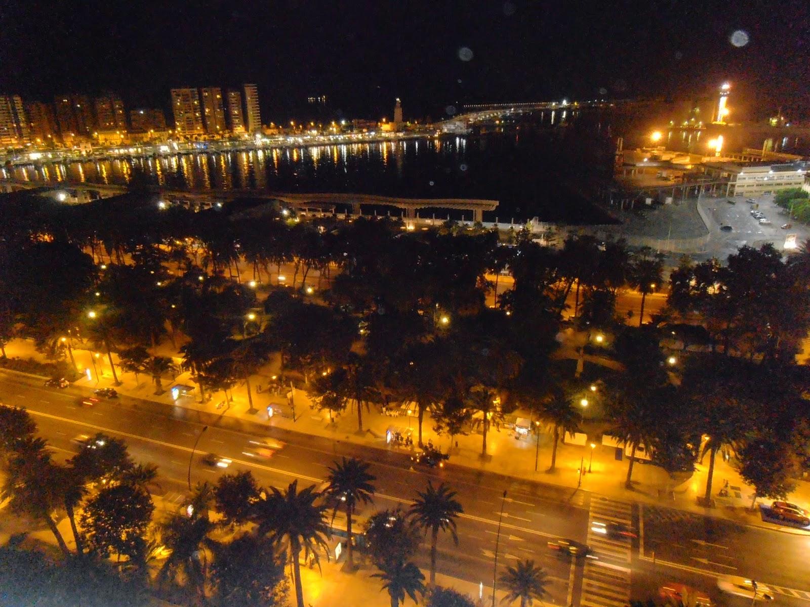View from AC Hotel Malaga Palcio
