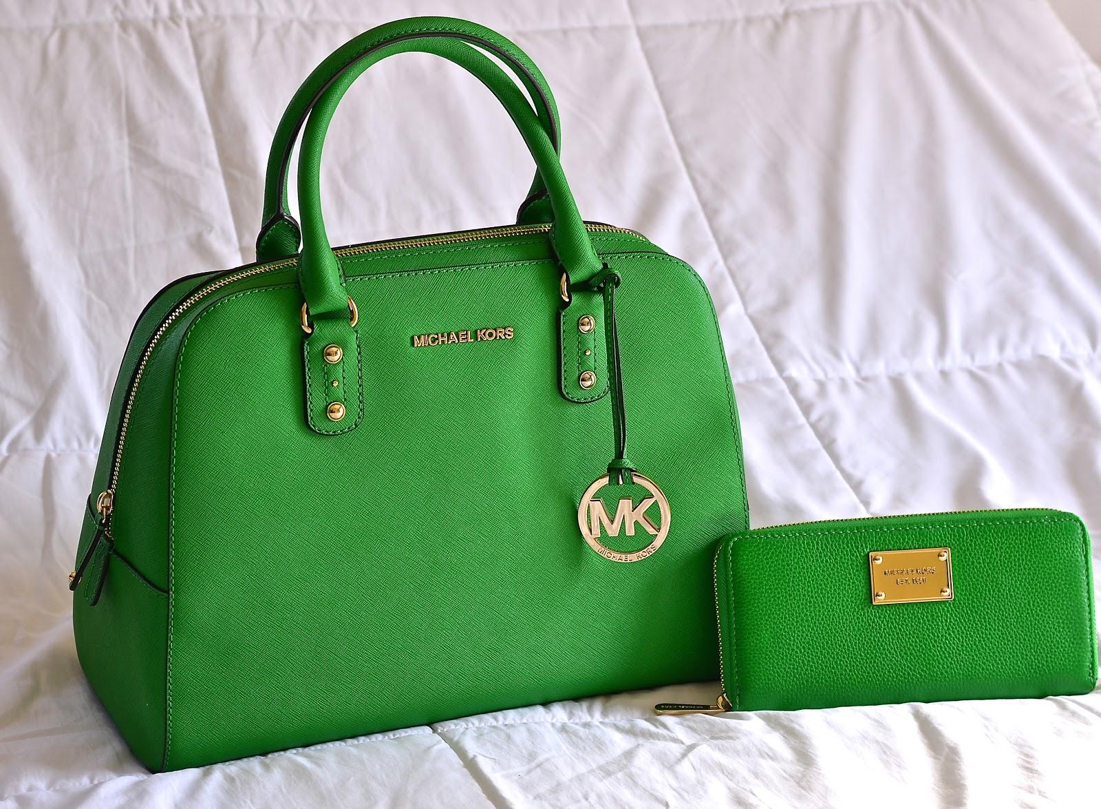 Doll Fashion Mk Green Handbag
