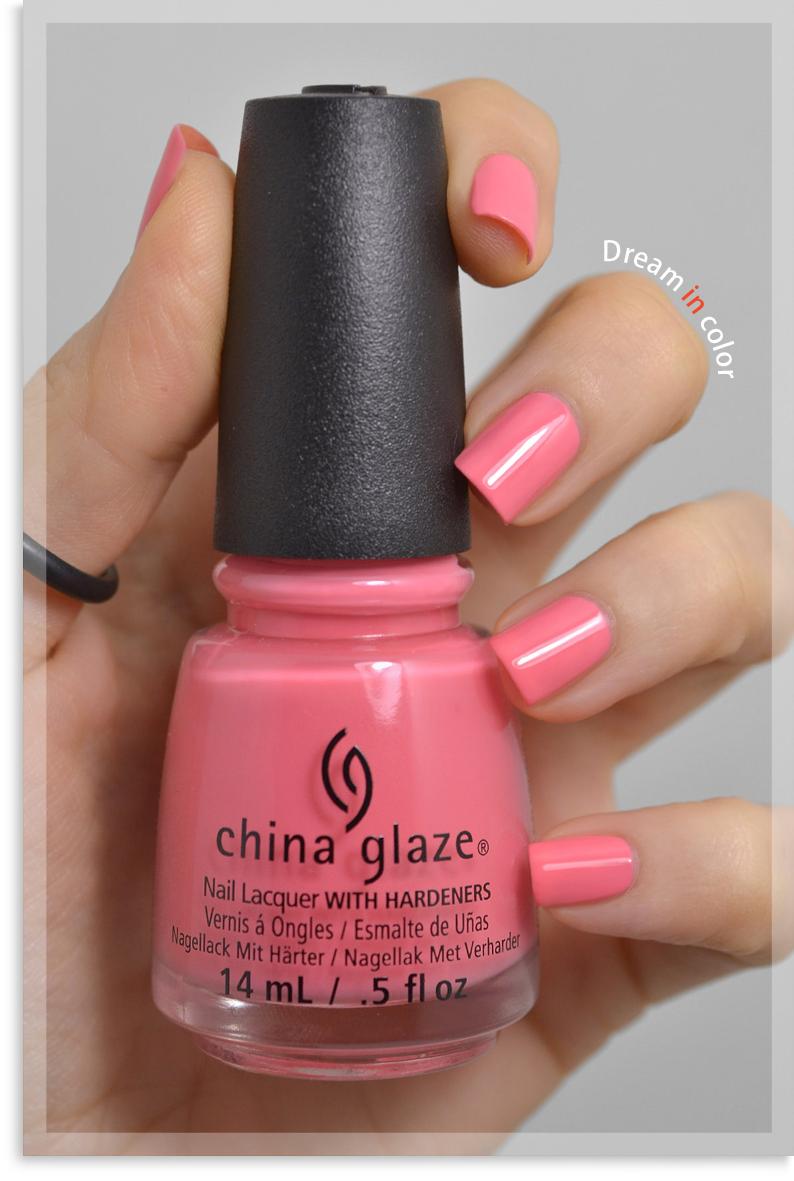 China Glaze Pinking out the window