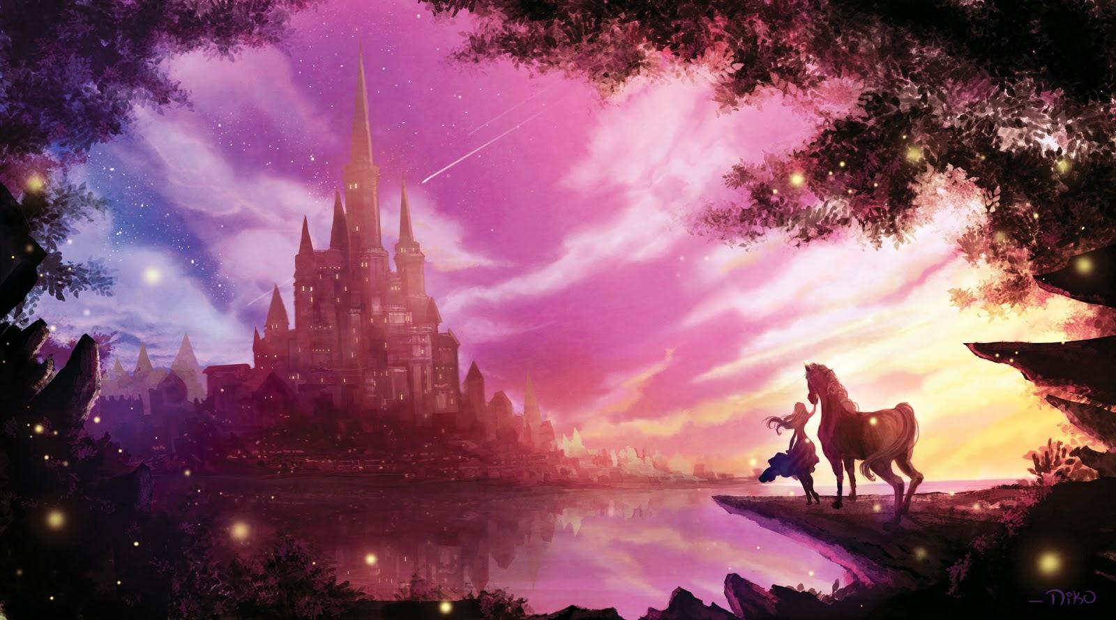 The Art Of Niko Niko Disney Castle Wish Upon A Star