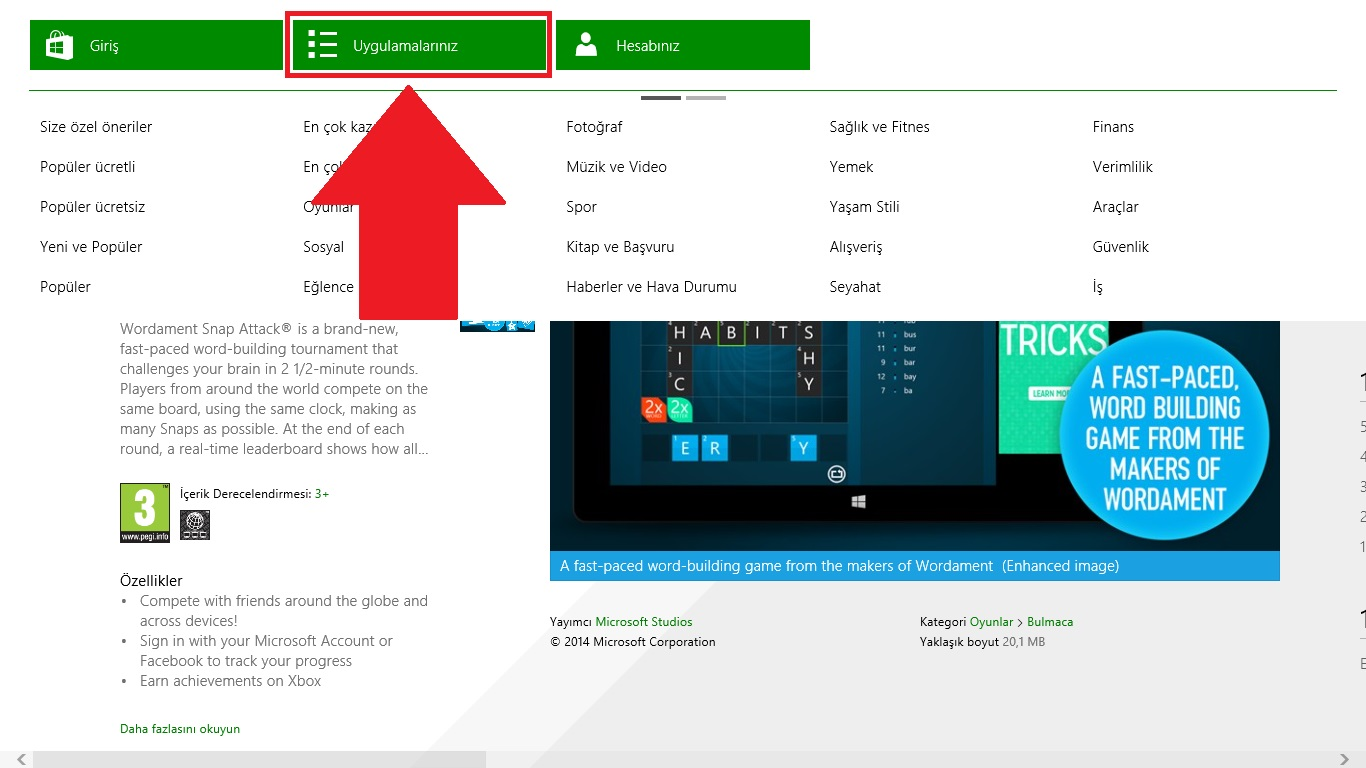 Windows 8 Mağaza Bilgisayar Kaldırma