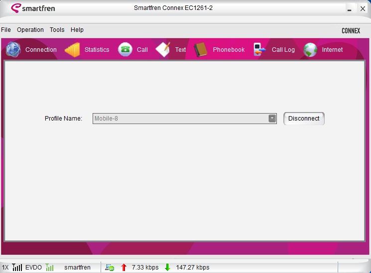 Internet Aman smartfren via SSH