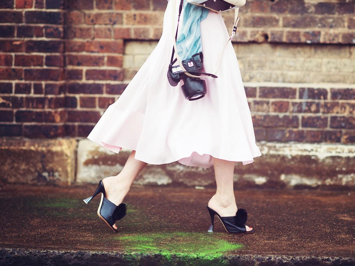 Types of shoes: Mules - Tipos de zapatos: Mulas