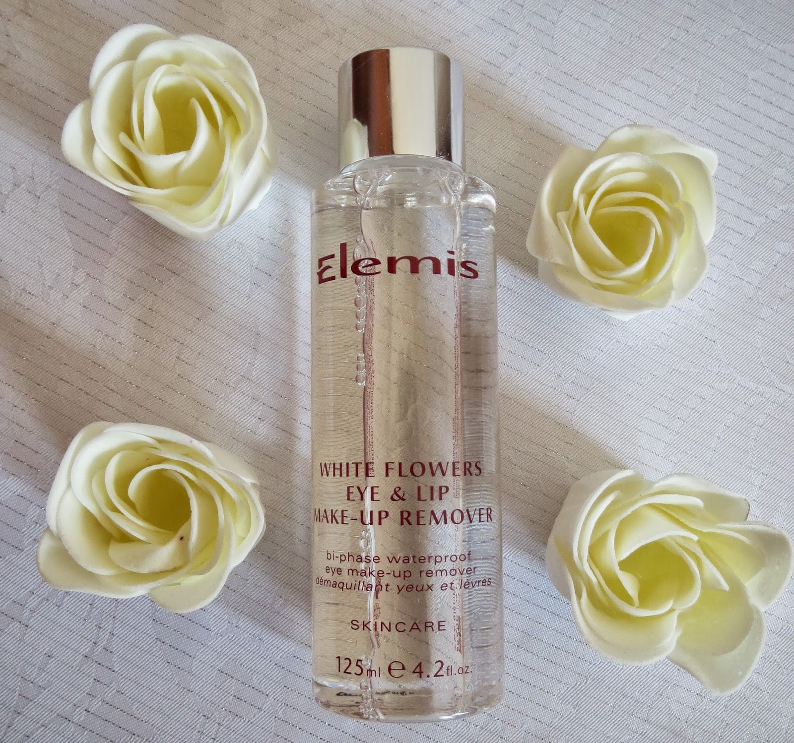 The Review Elemis White Flowers Lip And Eye Make Up Remover Expat