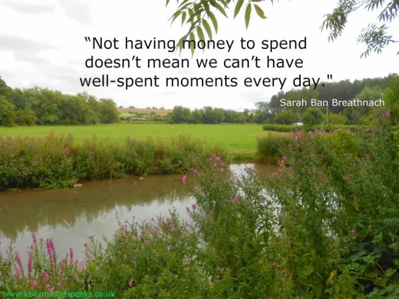 Sarah Ban Breathnach Money Abundance Quote