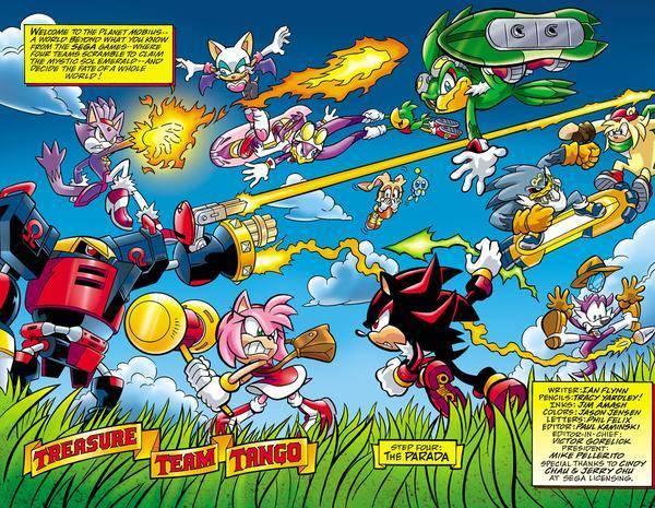 Sonic Heroes All Teams