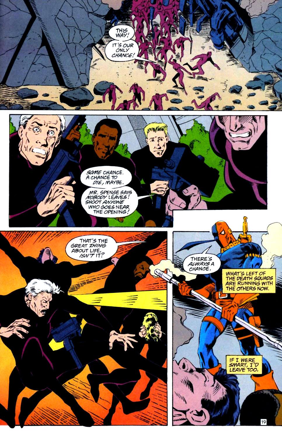 Deathstroke (1991) Issue #25 #30 - English 20
