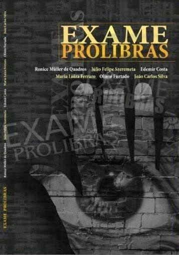 LIVRO - EXAME PROLIBRAS