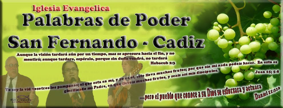"""IGLESIA EVANGELICA """"PALABRAS DE PODER"""" SAN FERNANDO"""