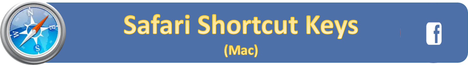 Handy List of Facebook Shortcut Keys - 2014
