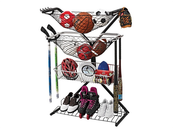 As You Can See This Is Basically The Do It All Sports Storage Rack. For  Either Yourself Or Your Kids I Am Sure You Can Fill This Rack Up And Notice  A ...