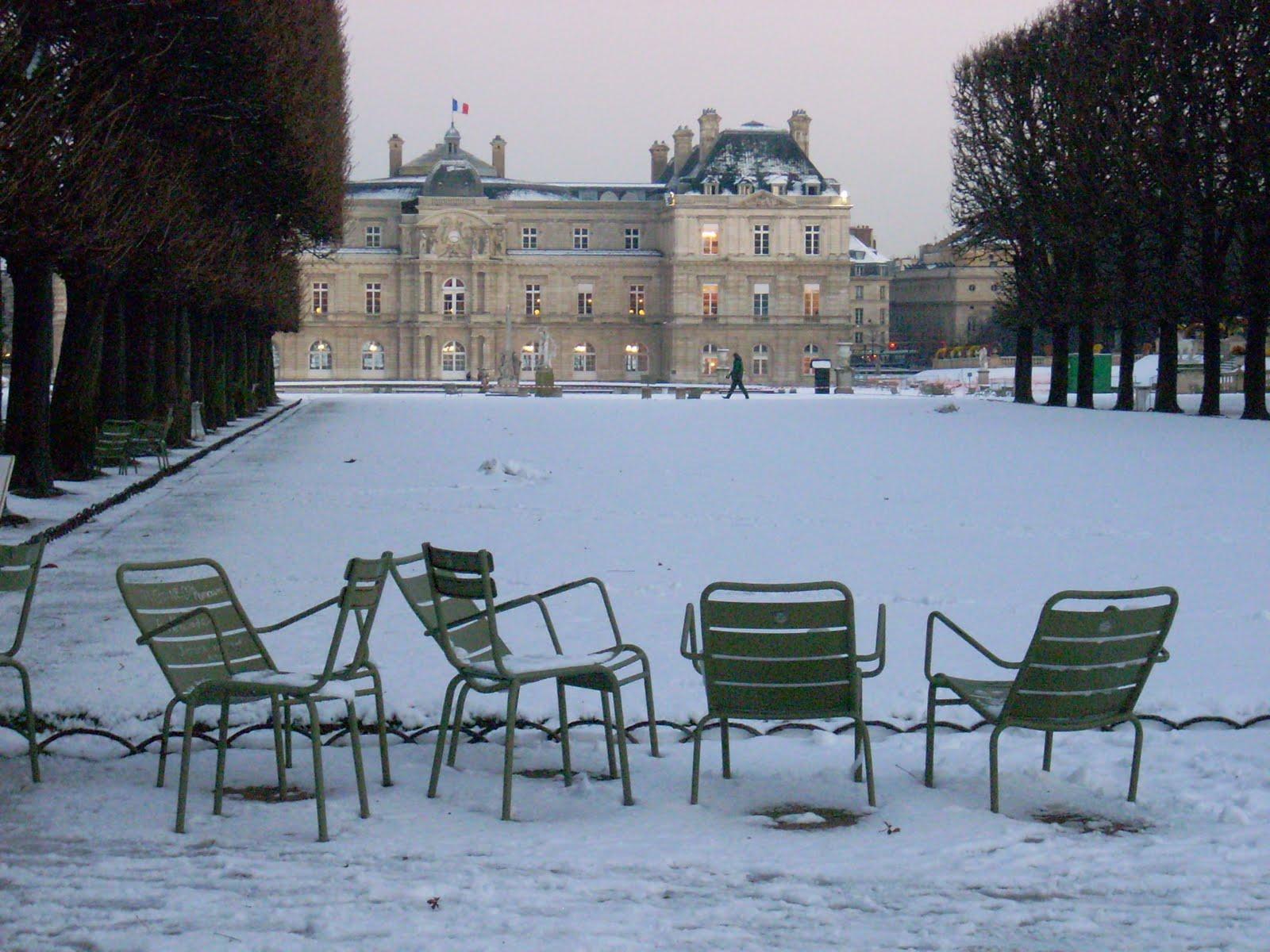 Activit s sportives grand public les jardins du luxembourg for Jardin en hiver