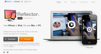 graba vídeos o tutoriales en HD con Reflector