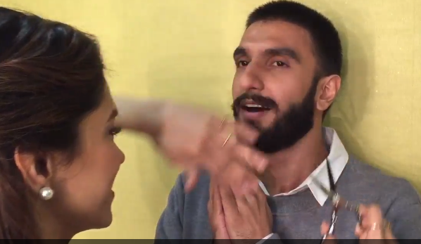Bollywood actor Ranveer Singh, who had been strutting around with a medieval bushy moustache, for nearly two years now, got rid of it on Saturday.  His girlfriend Deepika Padukone, who probably bore the brunt of it, wielded the scissor gladly and snipped out the extra hair from his moustache.