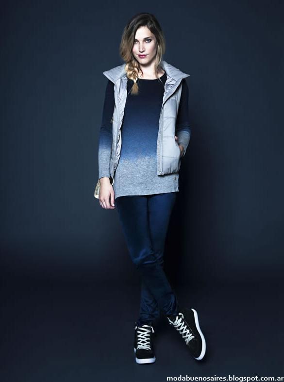 Moda invierno 2014 Kevingston Mujer Sweaters tejidos de moda 2014