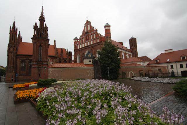 Vilnius, Vilna, Lituania, Iglesia Bernardina