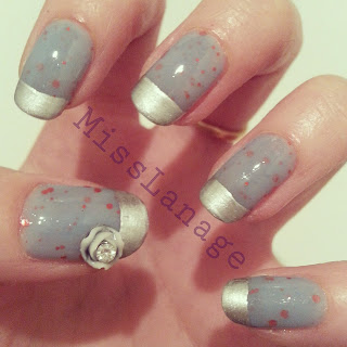 nelly-polish-beeny-siver-tips-flower-decoration-nail-art
