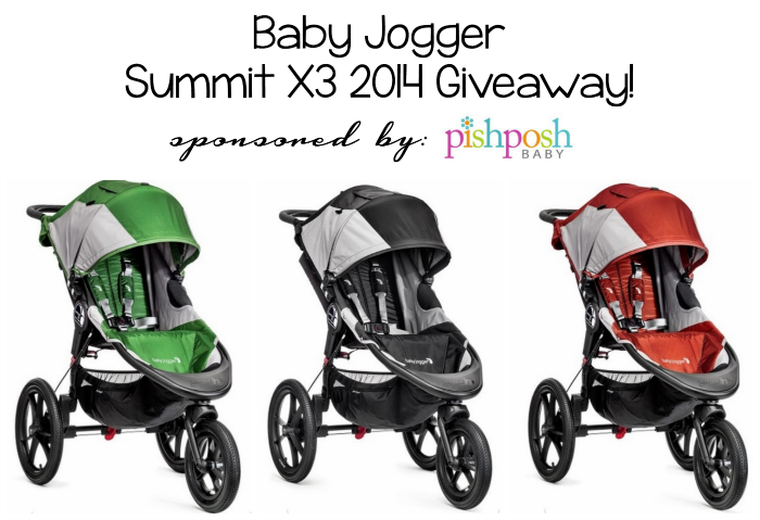 Director Jewels Baby Jogger Summit X3 2014 Stroller Giveaway