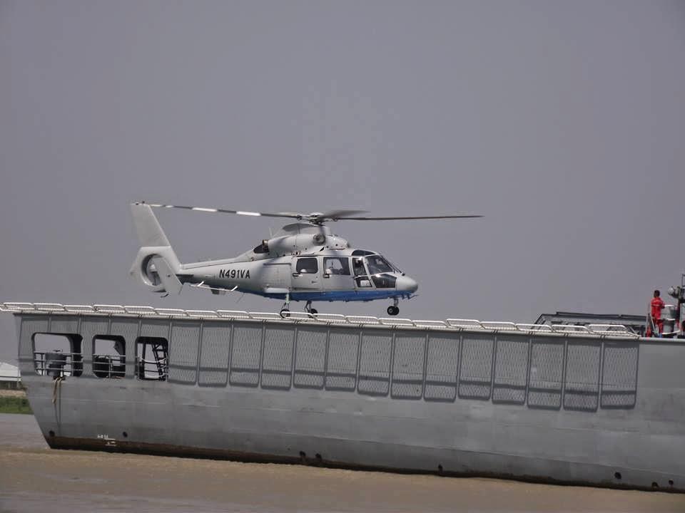 Z-9C Helicopter of Myanmar Navy