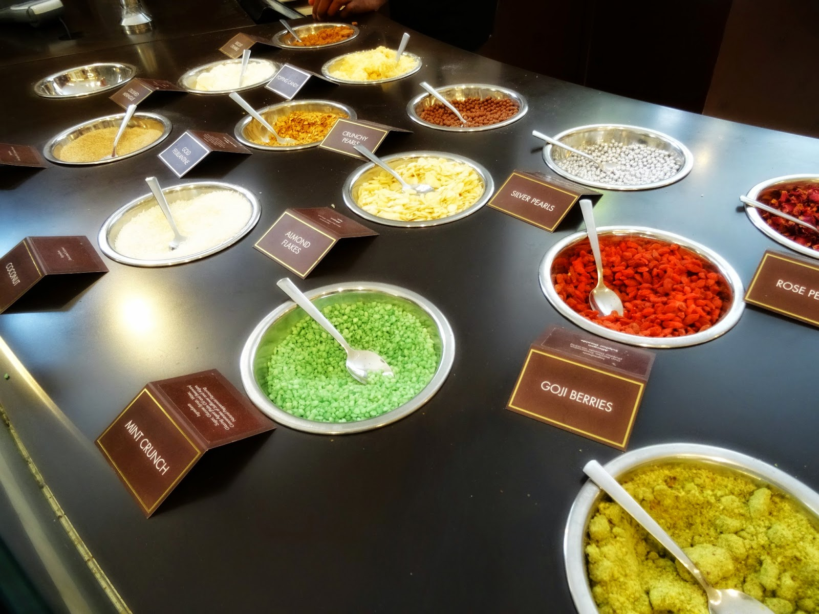 Magnum toppings London