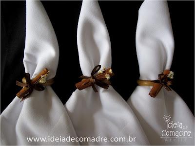 bodas decoração marron
