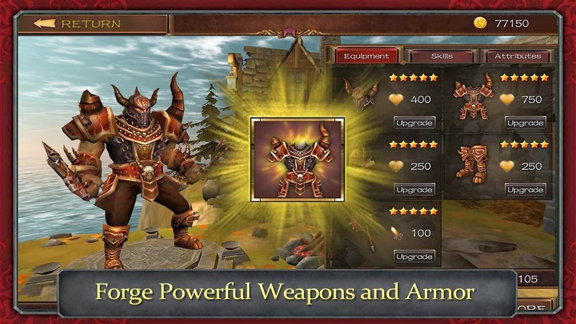 Demonrock: War of Ages full apk game