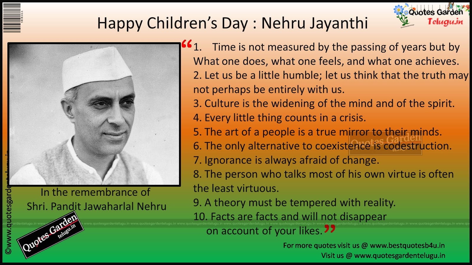 Happy Children s Day   Pandit Jawahar Lal Nehru   Life History of