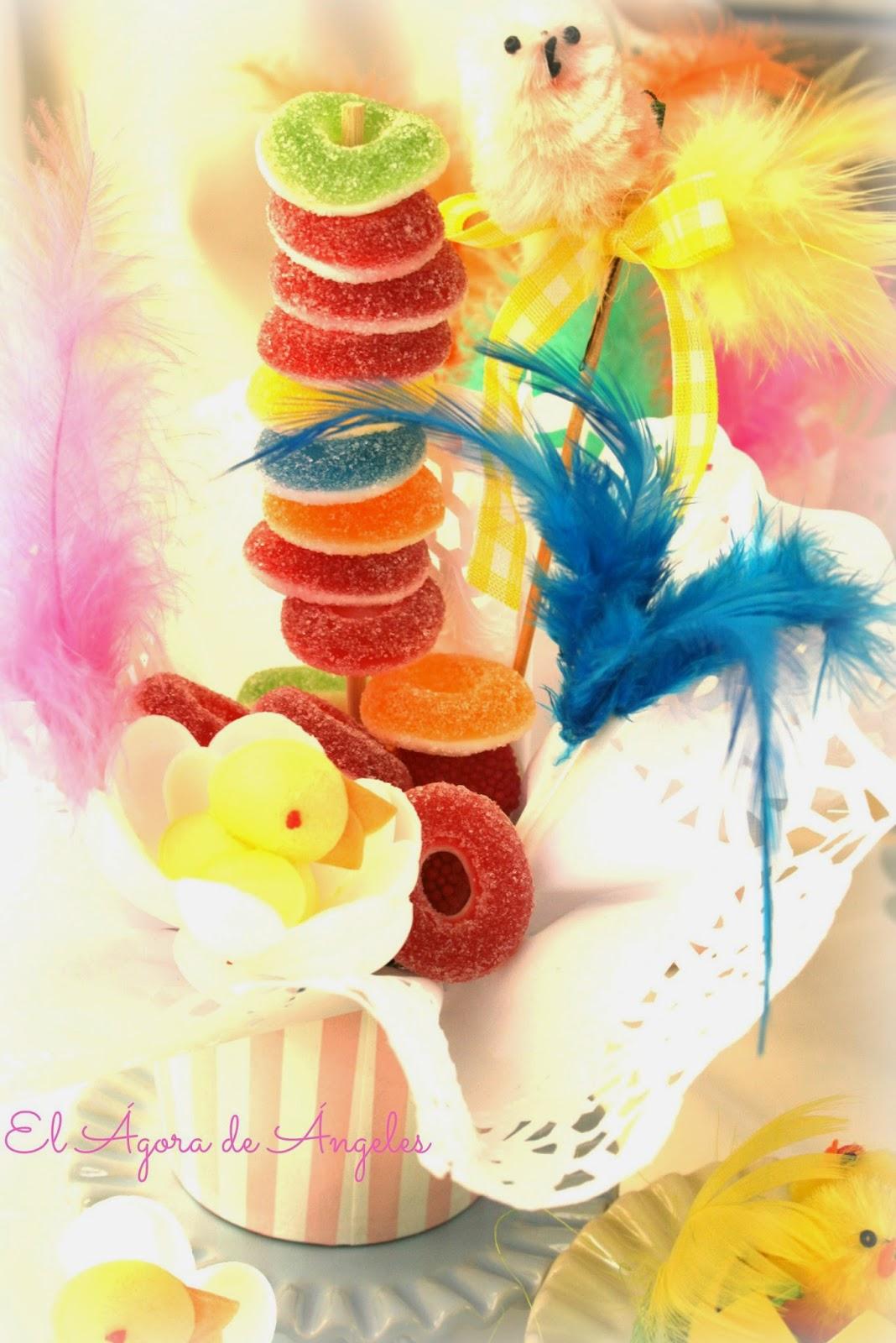 brochetas dulces, cumpleaños, fiestas infantiles,mesas dulces