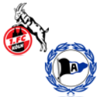 FC Köln - Arminia Bielefeld
