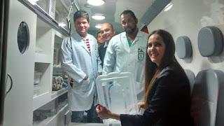 Secretária de Saúde entrega ambulância e inaugura ampliação e novos serviços no Hospital Regional de Guarabira