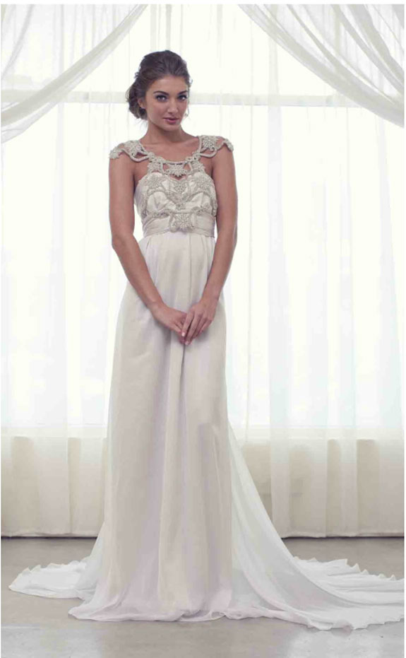 Maisocalledlife 12 12 12 greek goddess inspired wedding for Grecian goddess wedding dresses