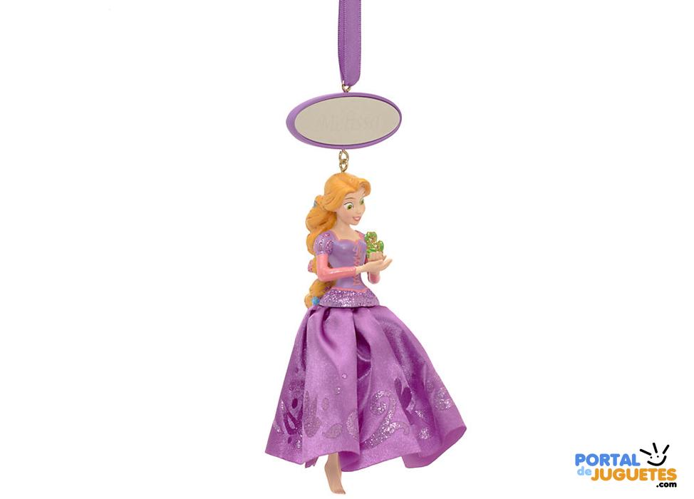 adorno navidad rapunzel personalizado enredados disney store