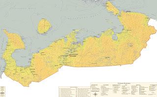 Ненецкий автономный округ, карта