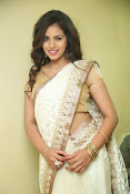 gowthami chowdary glamorous in saree-thumbnail-4