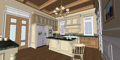 Thiết kế nội thất mang phong cách cổ điển