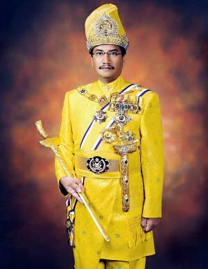 sedikit info tentang Sultan Mizan: